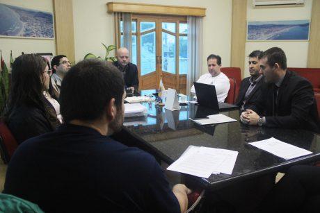 Sindifoz se reúne com prefeito de Navegantes para tratar de acordo da greve de 2017
