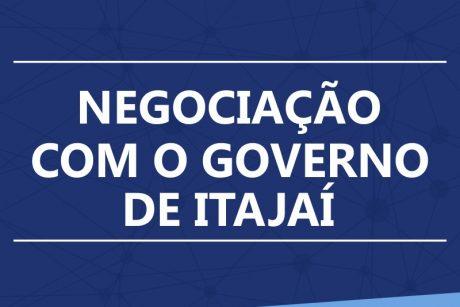Negociações com a Prefeitura de Itajaí serão retomadas após período eleitoral