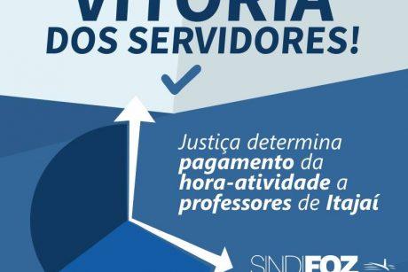 Justiça determina pagamento da hora-atividade a professores de Itajaí