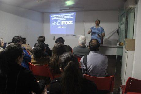 Sindifoz encerra o ciclo de reuniões sobre a revisão salarial dos servidores de Navegantes