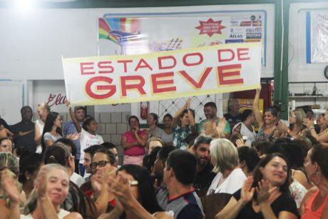 Servidores públicos de Navegantes decretam estado de greve