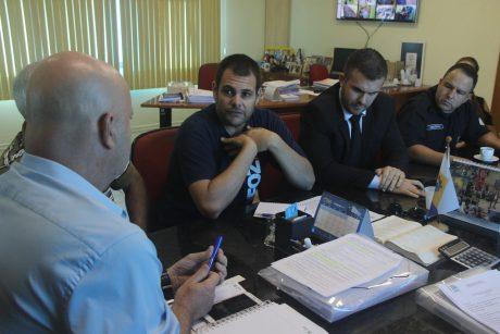 Após cinco meses, Sindifoz volta a se reunir com o prefeito de Navegantes