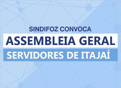 Edital de convocação – Assembleia Geral de Itajaí – 14/05