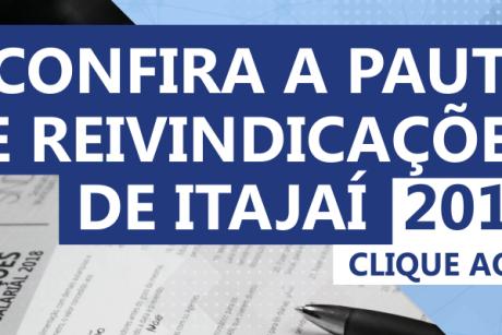 Confira a pauta de reivindicações de Itajaí (Campanha Salarial de 2019)