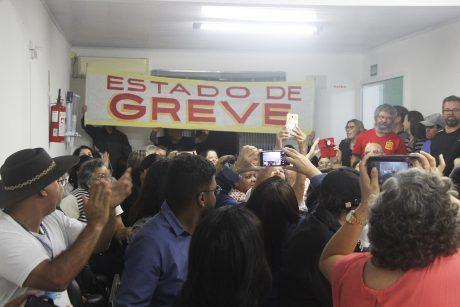 Servidores de Itajaí rejeitam proposta do governo e decretam estado de greve
