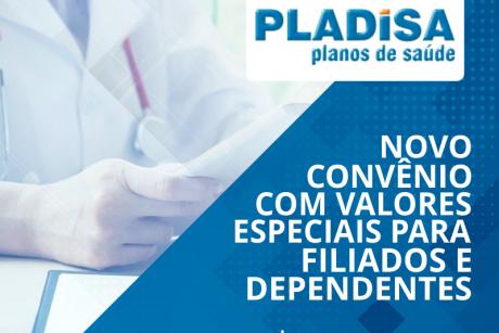 Novo convênio: Pladisa Planos de Saúde