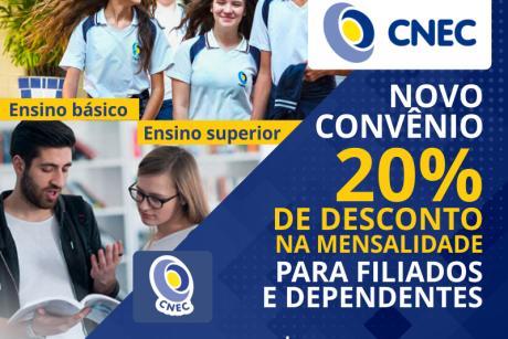 Novo convênio: Colégio Fayal e Faculdade IFES/CNEC