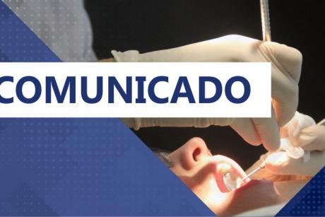 Comunicado: agenda do consultório odontológico do Sindifoz