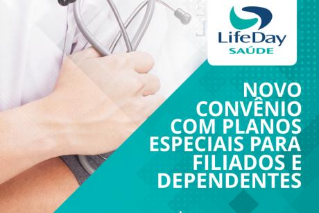 Novo convênio: LifeDay Saúde
