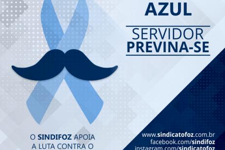 Novembro Azul: servidor, previna-se!