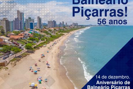 Parabéns Balneário Piçarras!