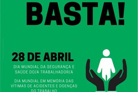 Fetram: Dia Mundial da Segurança e Saúde do/a Trabalhador/a Dia Mundial em Memória às Vítimas de Acidente e Doenças de Trabalho