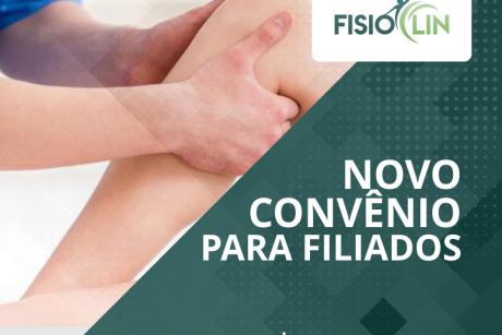 Novo convênio: FisioClin Fisioterapia