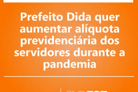 Prefeito de Ilhota quer aumentar alíquota previdenciária dos servidores durante a pandemia