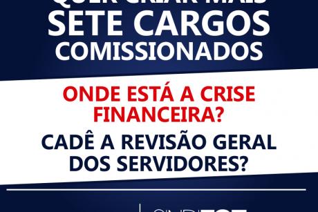 Prefeitura de Itajaí quer criar mais sete cargos comissionados