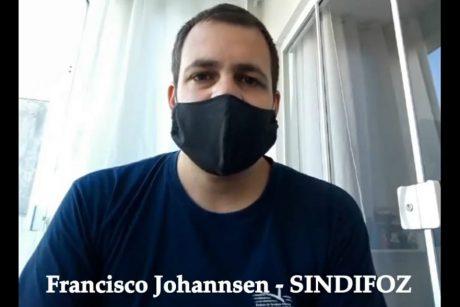 Sindifoz participa de campanha de combate ao coronavírus em Navegantes