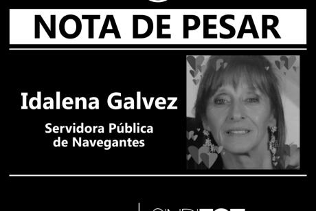 Nota de Pesar: Idalena Galvez, servidora de Navegantes