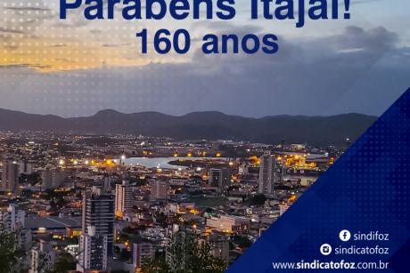Parabéns Itajaí!