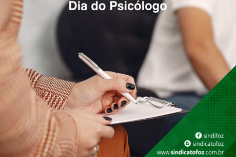 Parabéns psicólogos!