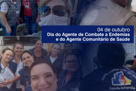 Dia dos Agentes Comunitários de Saúde e dos Agentes de Combate a Endemias