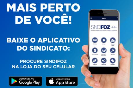 Aplicativo do Sindifoz também disponível para iOS