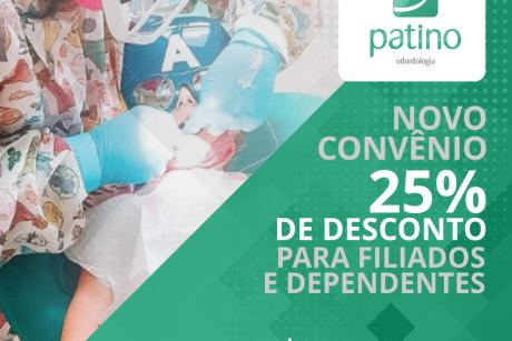 Novo convênio: Patino Odontologia e Patino Lifecenter