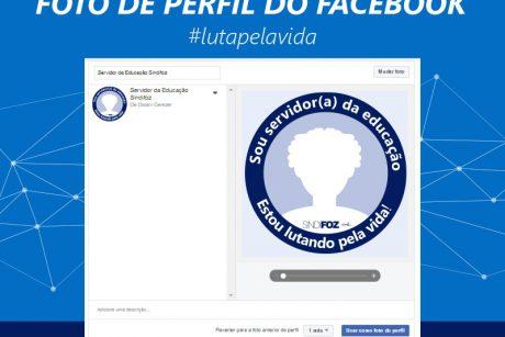 Sindifoz lança campanha de atualização da foto de perfil do Facebook
