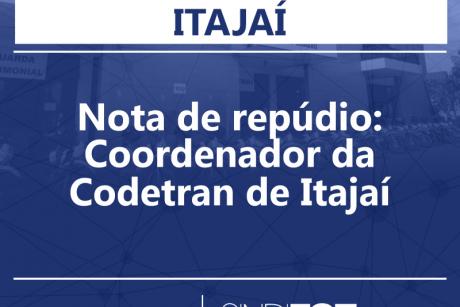 Nota de repúdio: Coordenador da Codetran