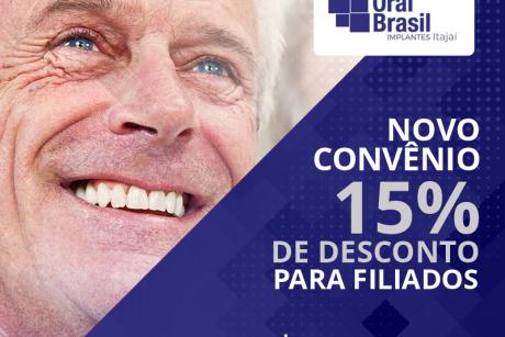 Novo convênio: Oral Brasil Implantes Itajaí
