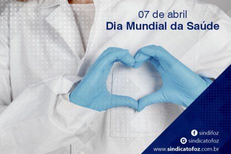 Dia Mundial da Saúde: data para refletir e valorizar os profissionais da linha de frente