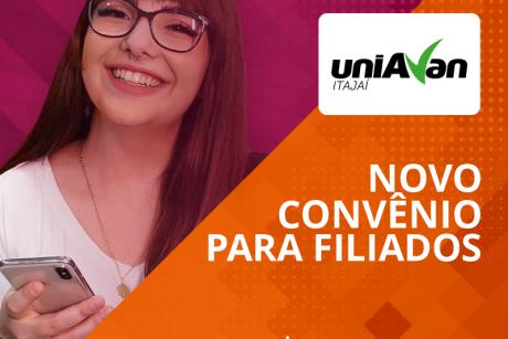 Novo convênio: Uniavan Itajaí