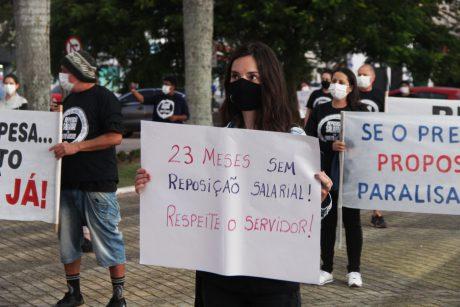 Itajaí: reposição salarial é um direito nosso!