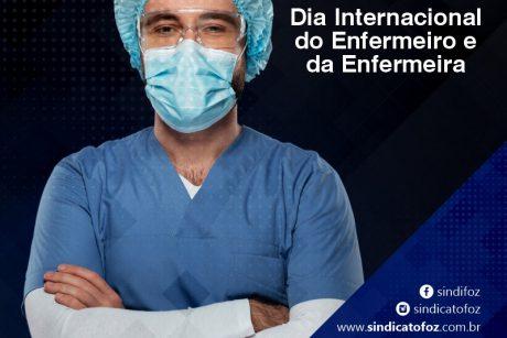 12 de maio: dia internacional do enfermeiro e da enfermeira