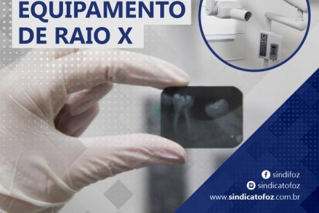 Novo equipamento de raio x
