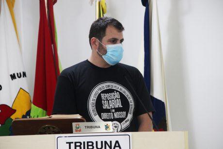 Presidente do Sindifoz participa da sessão da Câmara de Vereadores de Ilhota