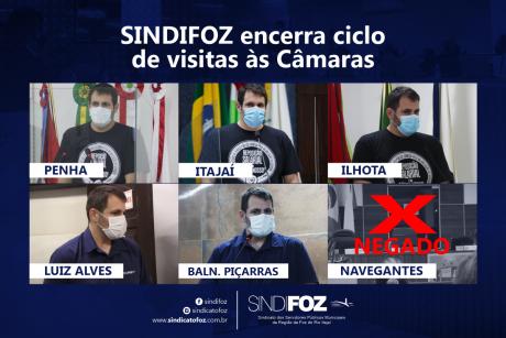 Sindifoz encerra ciclo de visitas às Câmaras da sua base territorial. Duas moções já foram aprovadas