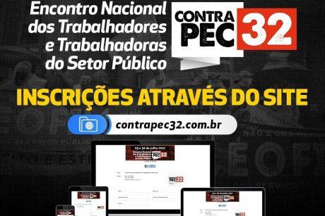 Inscrições abertas para encontro que unifica a luta contra Reforma Administrativa